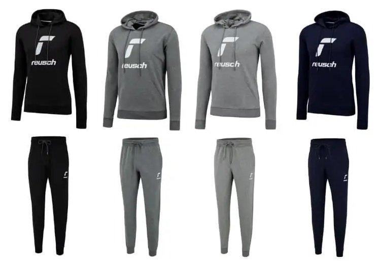 Reusch Baumwoll-Jogginganzug Essentials Logo