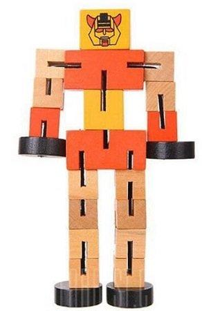 Spielzeug-Roboter aus Holz für 1,40€ inklusive Versand
