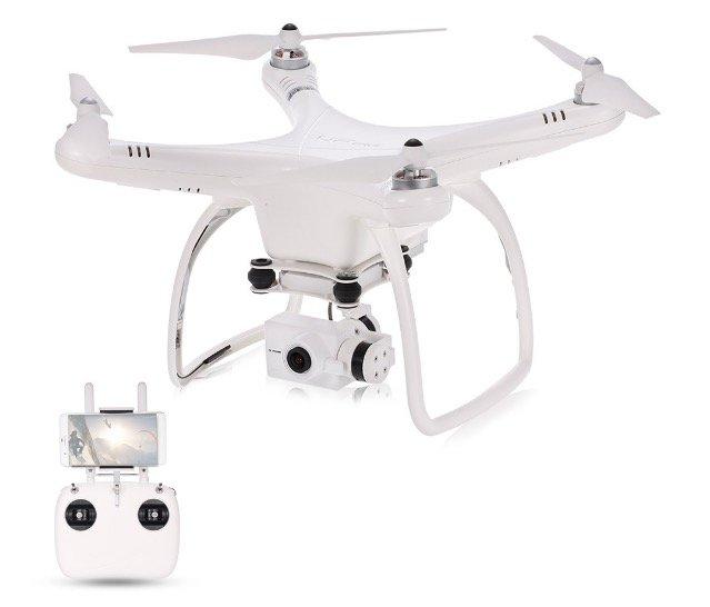 UP Air One Plus Professional (RTF) Drohne (GPS, 4K Cam, Follow Me) für ~244€