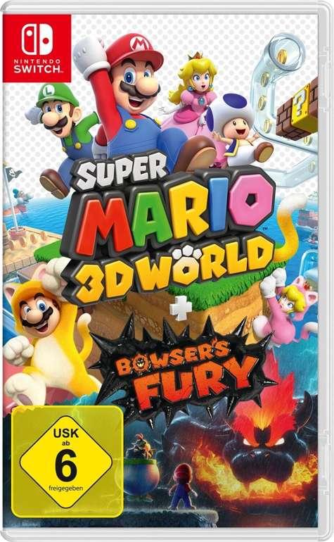 Super Mario 3D World + Bowser's Fury (Nintendo Switch) für 39,99€ inkl. Versand (statt 48€)