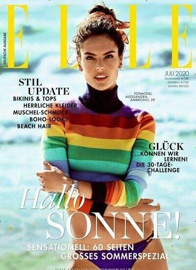 """Zeitschriften Abo: 12 Ausgaben """"ELLE"""" für 84€ + 80€ Amazon Gutschein"""