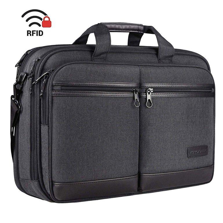 """Kroser - 17,3"""" Laptoptasche mit RFID-Schutz für 25,80€ inkl. Versand (statt 40€)"""