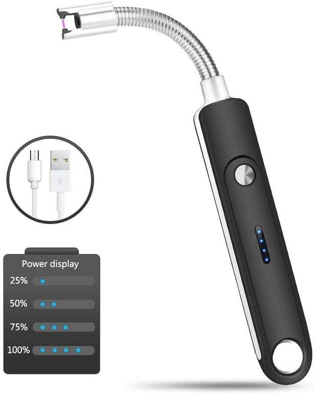 Eletorot wiederaufladbares Lichtbogen Feuerzeug in 4 Farben für je 7,79€ inkl. Prime Versand (statt 12€)