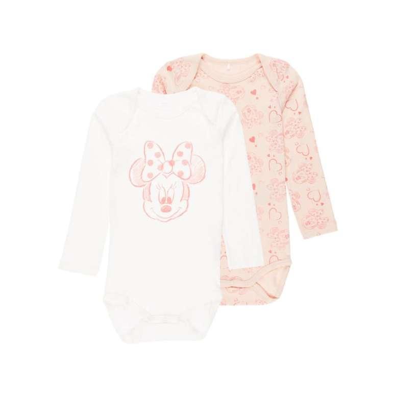 30% Rabatt auf Mode bei babymarkt - z.B. name it Girls Langarmbody 2er Pack Minnie ab 4,19€ (statt 15€)