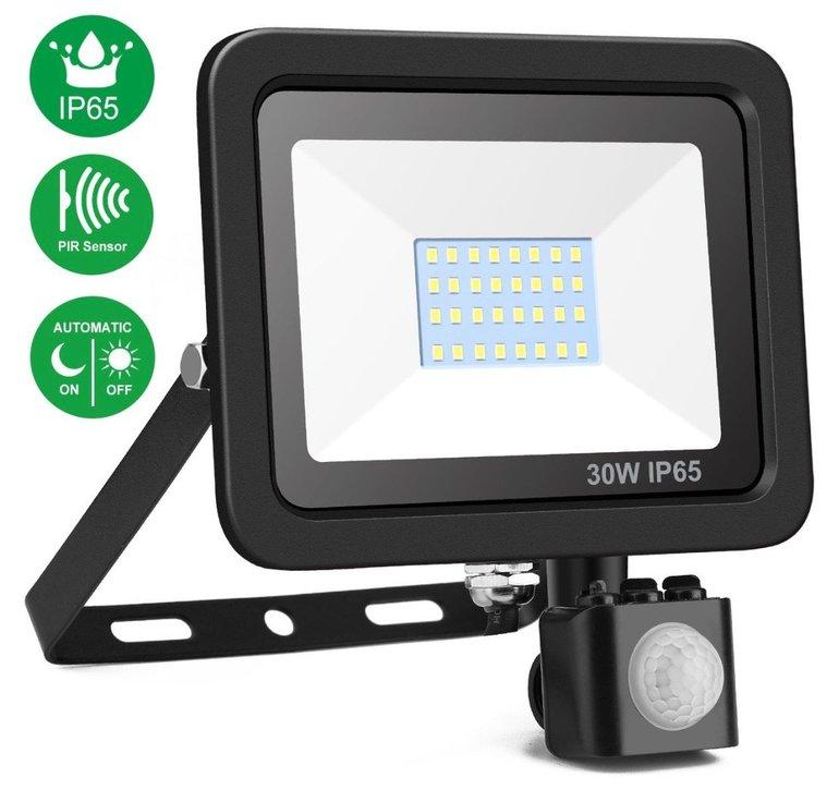 Minger 30W LED-Strahler mit Bewegungsmelder für 12,48€ (Prime)