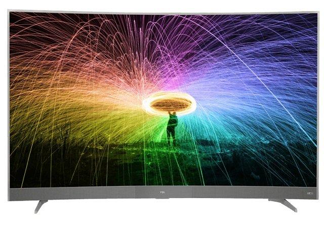 """TCL U55P6096 - 55"""" Curved LED 4K Smart TV mit Triple Tuner für 499€ (statt 565€)"""
