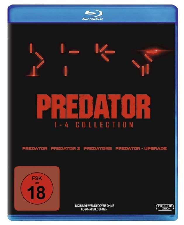 Predator Collection 1-4: Predator, Predator 2, Predators, Predator - Upgrade (Blu-ray) für 14,90€ (statt 31€)