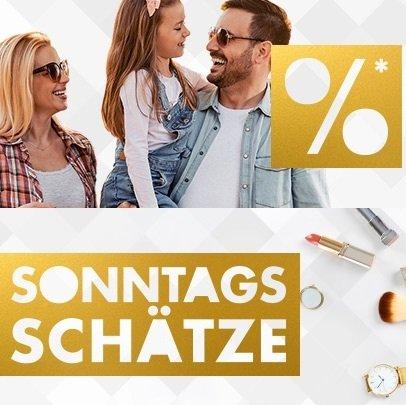 Galeria Sonntags-Schätze mit 20% Rabatt auf Wohnen, Düfte und mehr - 10% auf Lego & Playmobil