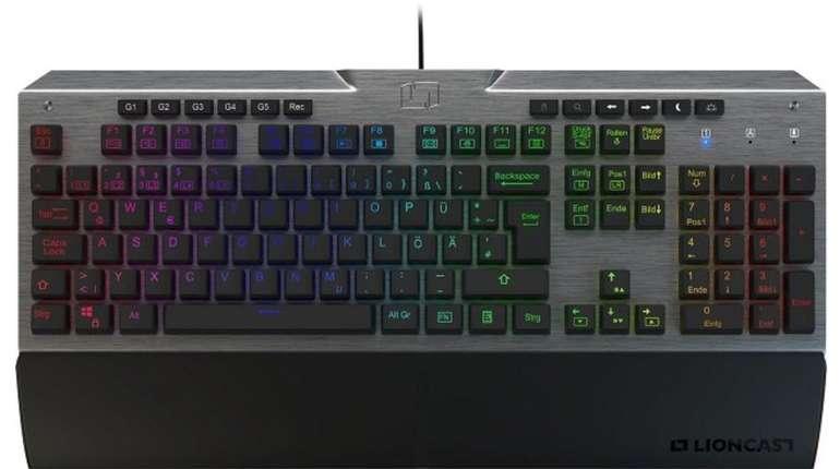 Lioncast LK300 Pro - Mechanische Tastatur mit Beleuchtung für 93€ (statt 110€)