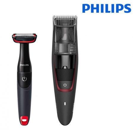 Philips BT7501/85 Bartschneider mit Absaugfunktion für 55,90€ inkl. VSK