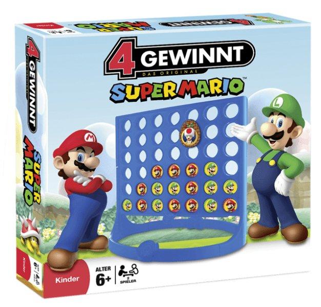 4 Gewinnt - Super Mario für 14,99€ inkl. Versand (statt 18€)
