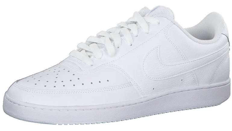 Nike Court Vision Low Herren Sneaker in Weiß für 45,46€ inkl.…