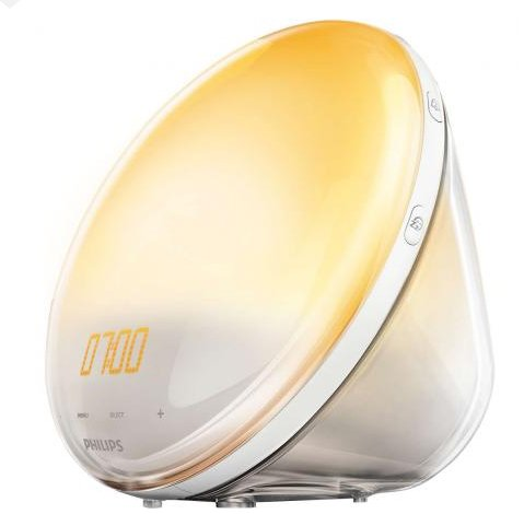Philips HF3531/01 Wake-Up Light mit Radio & Sonnenaufgangsfunktion für 87,54€