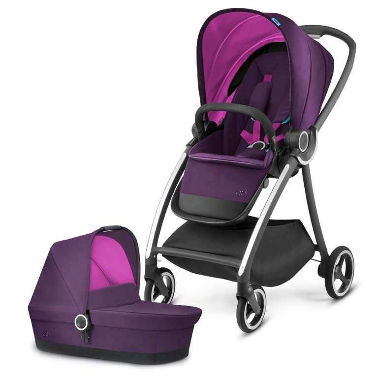 Gb Platinum Kinderwagen Maris mit Kinderwagenaufsatz Cot Posh Pink für 154,99€ inkl. Versand