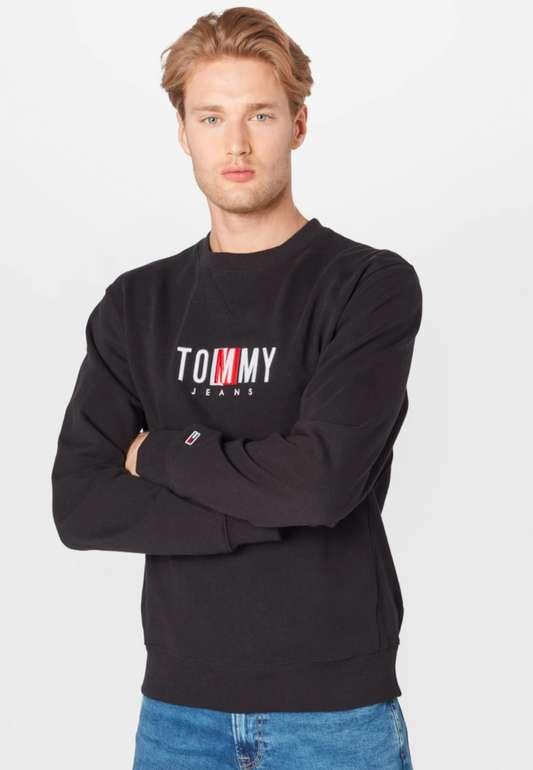 """Tommy Jeans Sweatshirt """"Timeless"""" in Schwarz für 39,90€inkl. Versand (statt 62€)"""