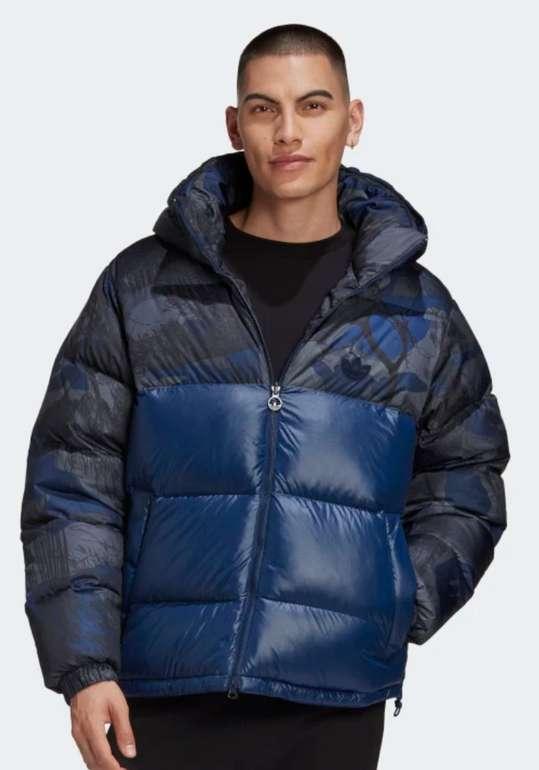 adidas Regen Hooded Block Jacke in Blau für 71,98€inkl. Versand (statt 90€)