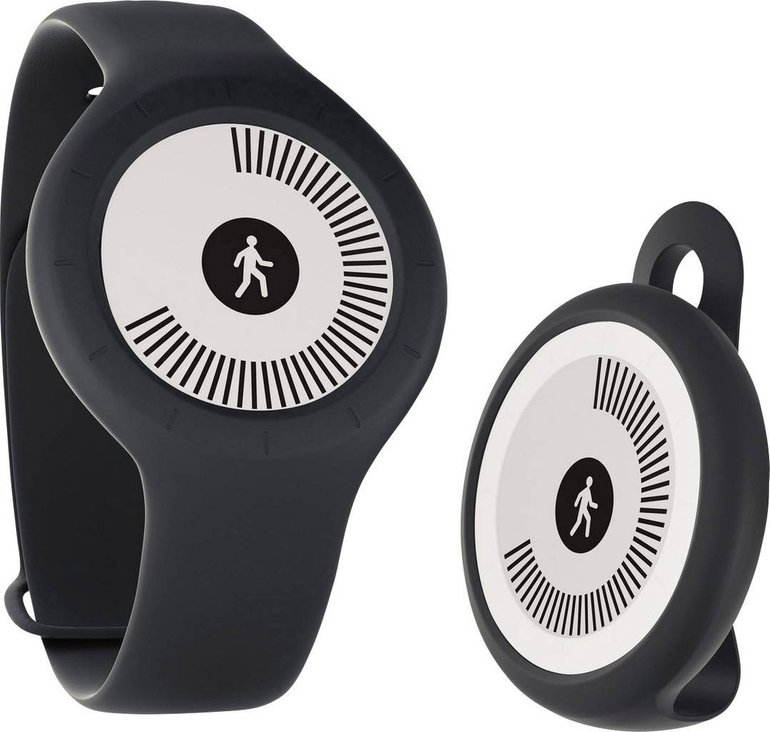 Withings Go Bluetooth Fitness-Tracker in schwarz mit Schlafsensor für 19,99€