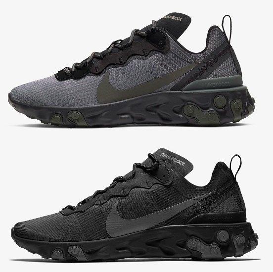 "Nike React Element 55 Herren Sneaker in 3-""Colorways"" für je 63,68€ inkl. Versand (statt 91€)"