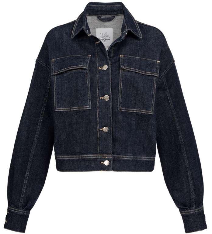 Pepe Jeans x Dua Lipa Oversize Damen Jeansjacke für 33,94€ inkl. Versand (statt 42€)
