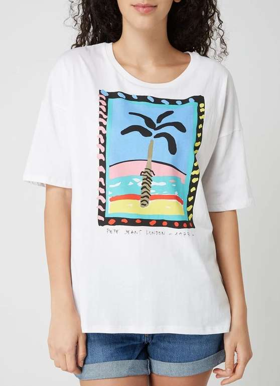 "Pepe Jeans Damen T-Shirt ""Lali"" für 10,19€ inkl. Versand (statt 27€)"