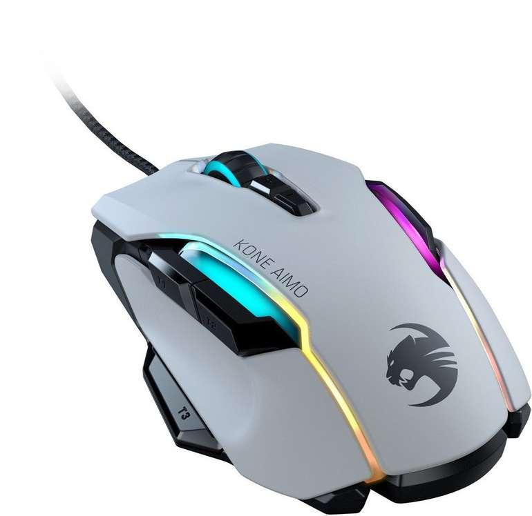 Roccat Kone Aimo - Gaming Maus in schwarz für 60,50€ inkl. Versand (statt 69€)