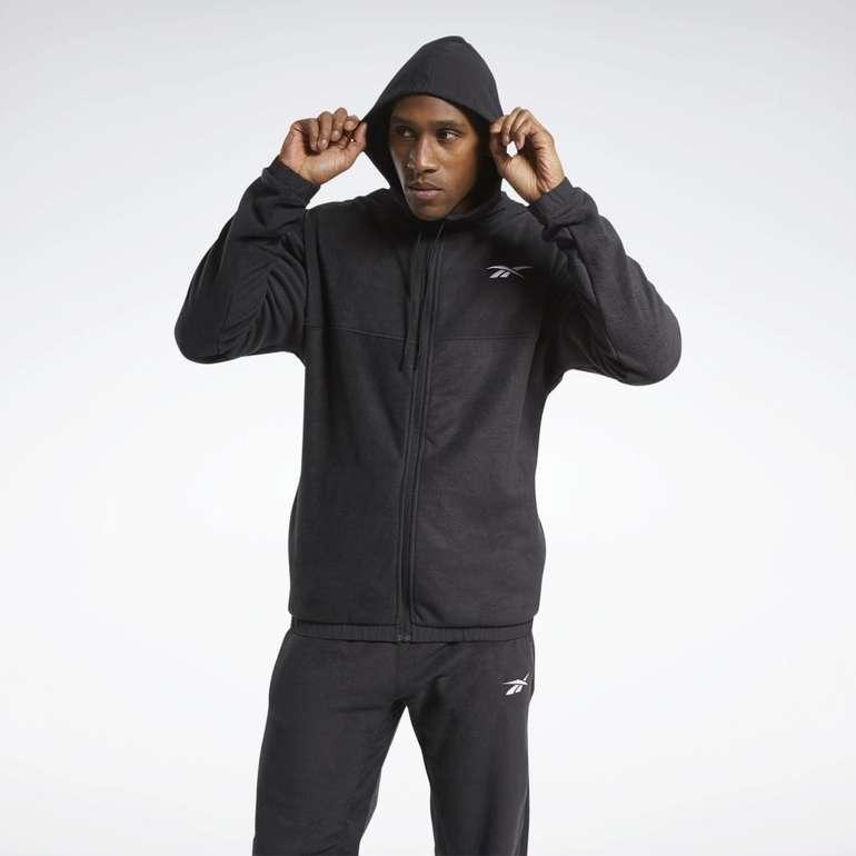 Reebok Workout Ready Herren Fleece Zip-Up Sweatjacke für 31,18€ inkl. Versand (statt 47€)