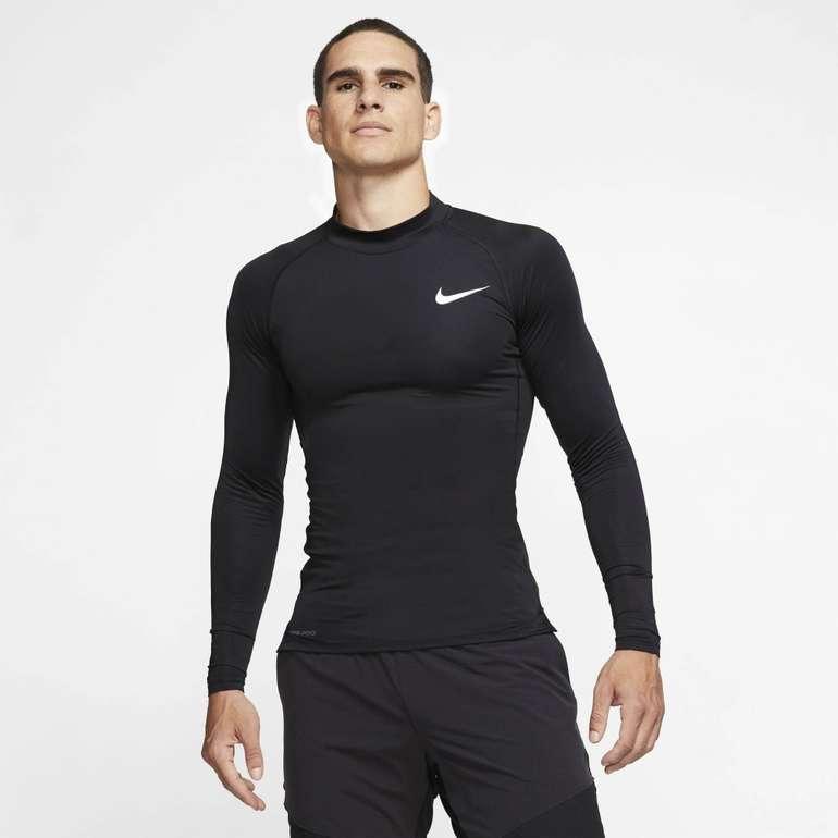 Nike Funktionsshirt Longsleeve Pro Compression Top in 4 Farben für 19,95€ inkl. Versand (statt 23€)