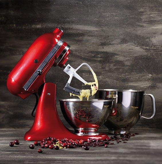 KitchenAid Artisan 5KSM175PS Empire Rot - 4,8l Küchenmaschine für 353,99€