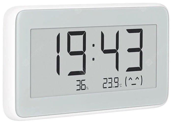 Xiaomi Mijia Digitaluhr mit Thermometer & Hygrometer für 14,82€ inkl. Versand