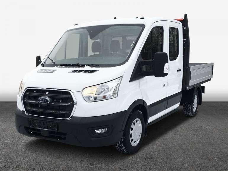 Privat + Gewerbe: Ford Transit Trend 310 L2 Doppelkabine Pritsche mit 131PS für 99€ – LF 0,34