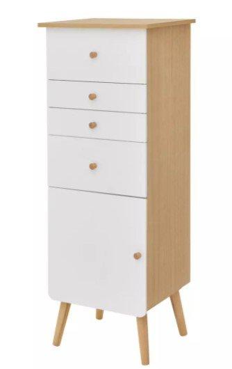 Modern Living Schminkkommode in Naturfarben/Weiß für 89,15€ inkl. Versand (statt 105€)