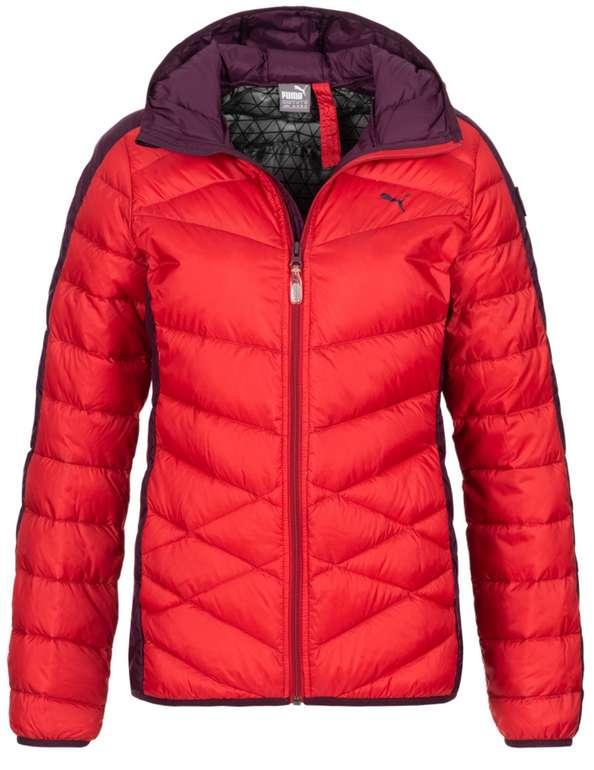 Puma Active 650 Goose Down Damen Winterjacke in Rot für 49,99€inkl. Versand (statt 80€)