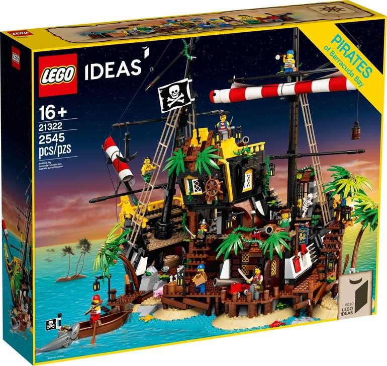 Lego Ideas 21322 - Piraten der Barracuda-Bucht für 159,99€ inkl. Versand (statt 190€)