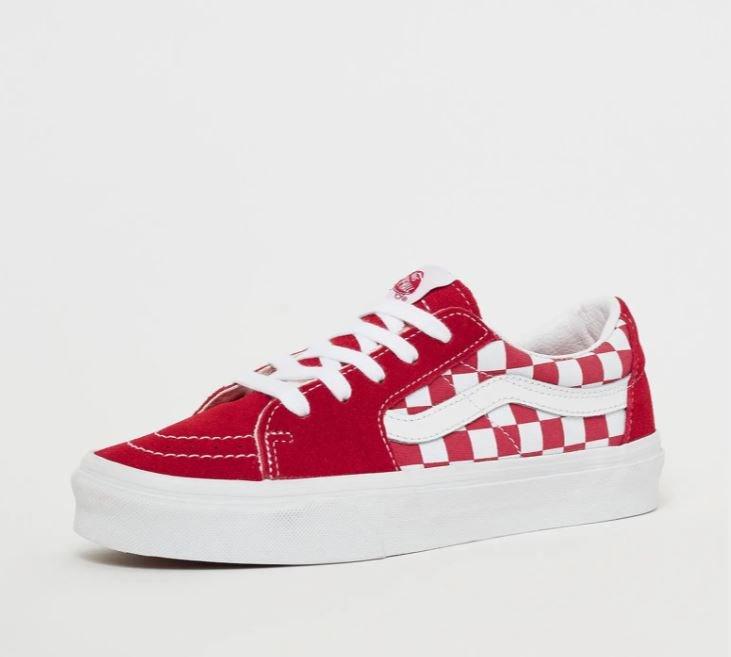 Vans Skate Low Sneaker für Damen in Rot für 38,99€ inkl. Versand (statt 48€)