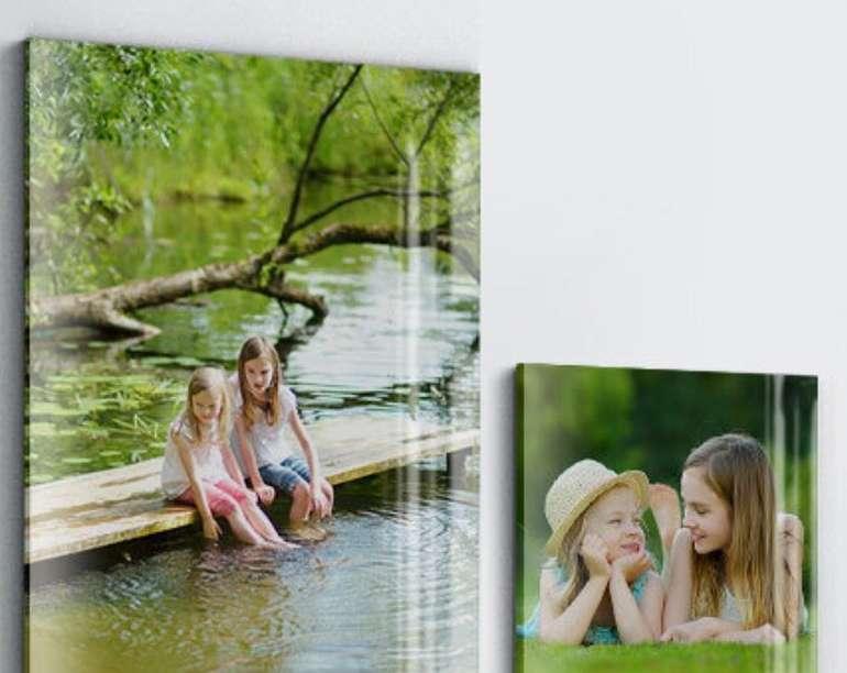 REWE Foto: Acrylglas Foto 40x40cm für 13,80€ oder 80x60cm für 20,80€ inkl. Versand