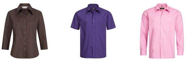 RUSSELL Damen- & Herren Hemden
