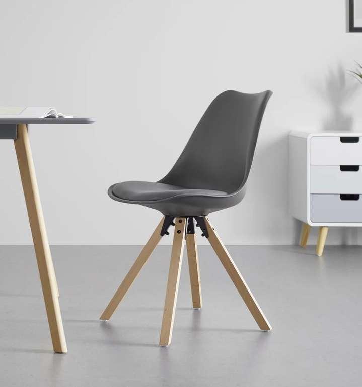Bessagi Home Stuhl Ricky mit Holzfüßen für 26,88€ inkl. Versand (statt 36€)