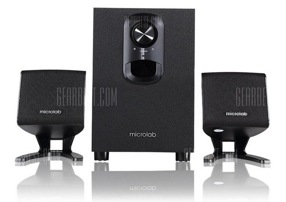 Microlab M108 - 2.1 Multimedia Lautsprecher System für 39,79€ (statt 46€)