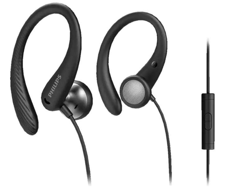Philips A1105BK/00 In-ear Kopfhörer in Schwarz für 7,99€inkl. Prime Versand (statt 15€)
