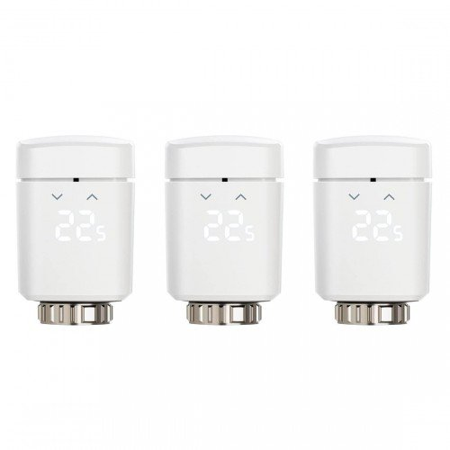 3er Pack Elgao Eve Thermo Heizkörperthermostat (3. Generation) für 124,95€ inkl. VSK (statt 165€)