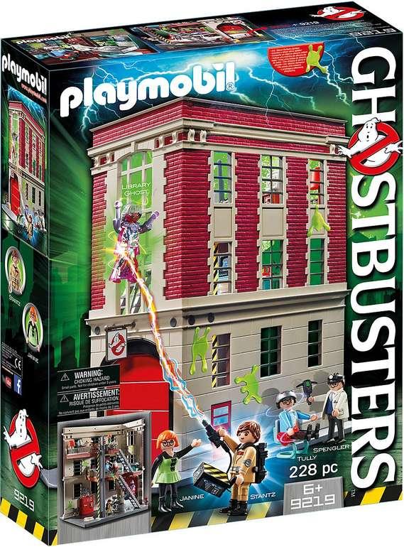 Playmobil Ghostbusters - Feuerwache (9219) für 37,99€ inkl. Versand (statt 50€)