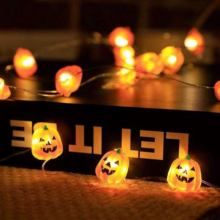 Ciciyoner 5 Meter Halloween LED Lichterkette für 6,99€ inkl. Versand (statt 23€)