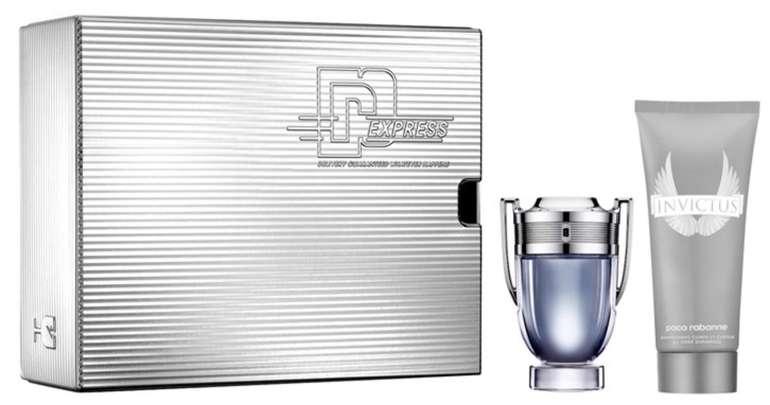 Invictus Geschenkset von Paco Rabanne (Eau de Toilette 50ml + Shower Gel 100ml) für 29,56€