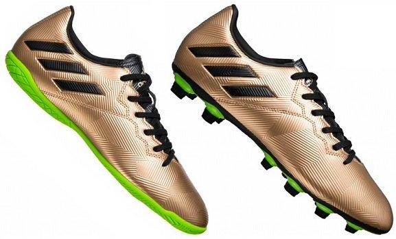adidas Messi 16.4 Indoor / Outdoor Fußballschuhe in Gold für 20,94€