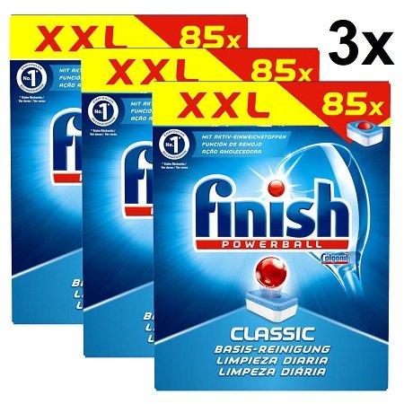 3 x 255 Finish Classic Regular Spülmaschinentabs für 40,46€ inkl. VSK