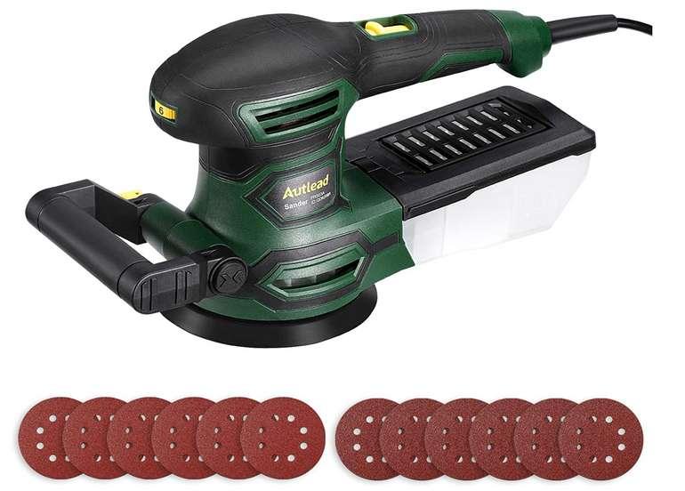 Autlead Exzenterschleifer (PRS03A) mit 450 Watt für 39,99€inkl. Versand (statt 53€)