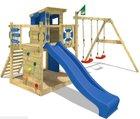 Spielhaus von Wickey mit Turm, Schaukel, Rutsche für 413,96€ statt 500€