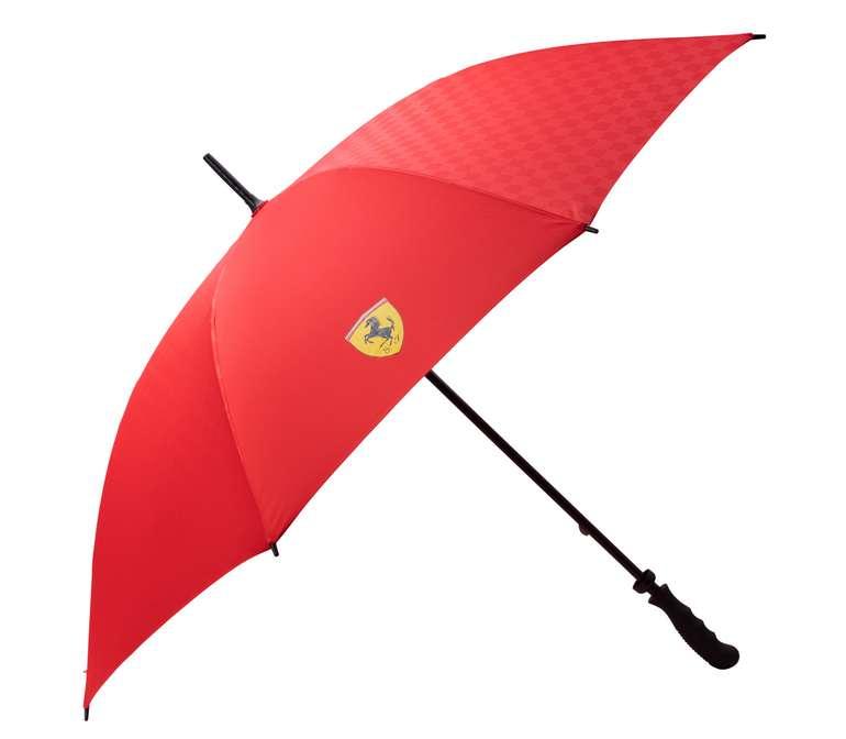 Scuderia Ferrari 130cm Regenschirm in zwei Farben für 13,94€ inkl. Versand (statt 20€)