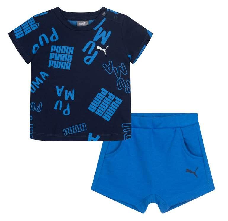Puma Boy Summer Baby Set in blau/schwarz für 18,94€ inkl. Versand (statt 25€)