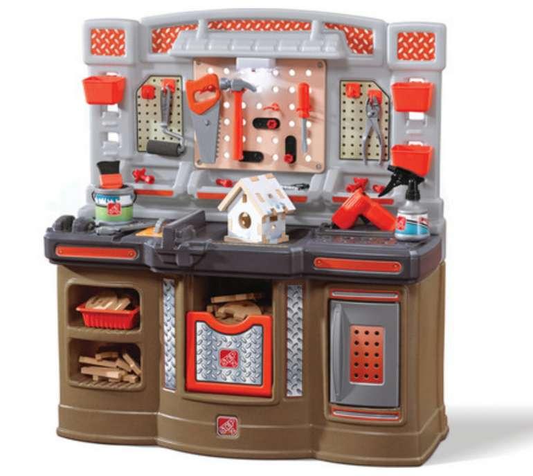 Step2 Big Builders Pro Workshop Miniaturwerkstatt für 108,90€inkl. Versand (statt 180€)